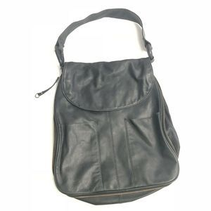 Latico Leather Hobo Shoulder Bag Expandable Zipper